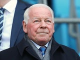 Wigan chairman Dave Whelan looks on during the FA Cup Quarter-Final match between Manchester City and Wigan Athletic at the Etihad Stadium on March 9, 2014