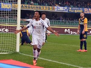Cuadrado fires Fiorentina to victory