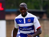 Hope Akpan of Reading at Adams Park on July 26, 2014