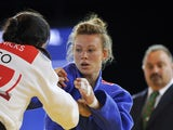 Kelly Edwards in the women's judo 52kg final at the SECC Precinct during the 2014 Commonwealth Games in Glasgow, Scotland on July 24, 2014