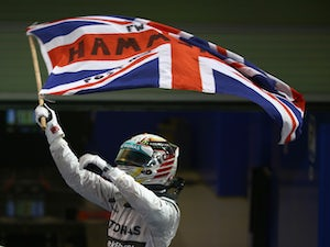 Hamilton revels in world title success