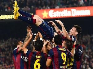 Sergio hails Messi