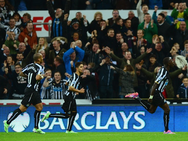 Result: Newcastle make it five wins in a row