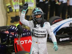 Nico Rosberg on top in Singapore FP1