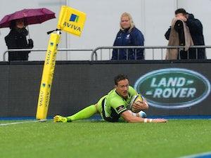 Saints win crucial match at Bath