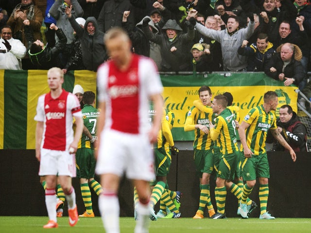 c8ee4b29619 Result  Ajax denied win by late ADO Den Haag leveller - Sports Mole