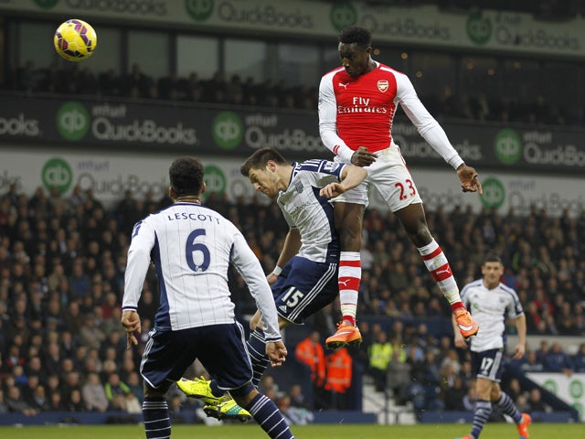Result: Welbeck heads Arsenal to victory