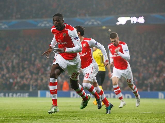 Result: Sanogo, Sanchez strikes guide Arsenal to victory