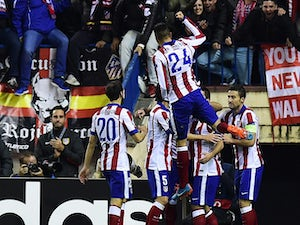 Atleti in control against Olympiacos