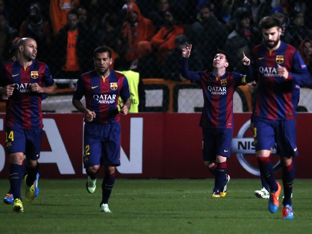 Result: Messi breaks CL record against APOEL