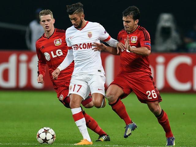 Result: Monaco shock Bayer Leverkusen in Germany
