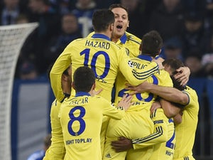 Chelsea thrash Schalke to progress