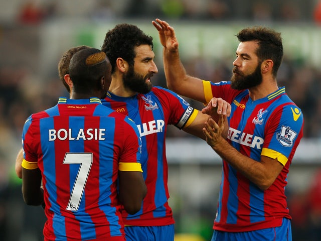 Result: Palace battle to draw against Swansea