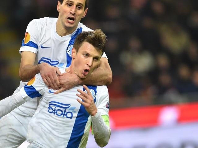 Result: Ten-man Inter see off Dnipro