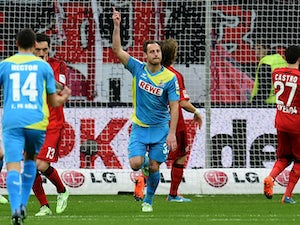 Lehmann rescues point for Koln