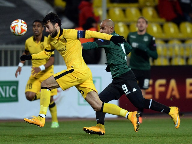 Result: Lille snatch late equaliser in Russia