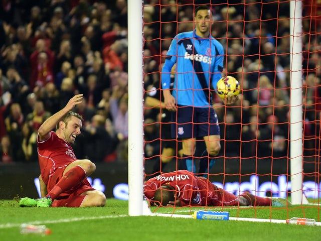 Result: Johnson ends miserable Liverpool run