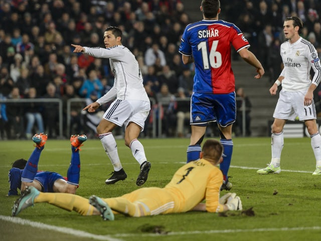 Result: Ronaldo helps Real see off Basel