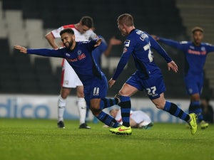 Late Green goal earns draw for MK Dons