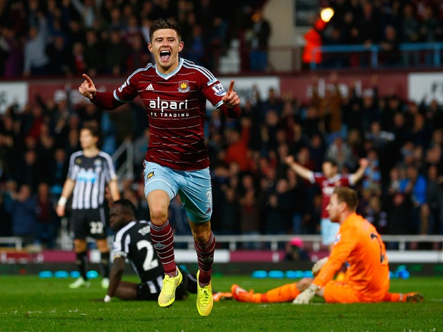 Result: West Ham edge past 10-man Newcastle