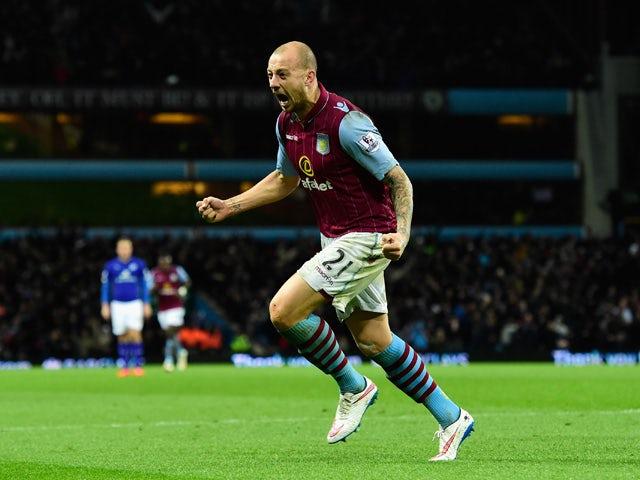 Result: Hutton fires Villa to win