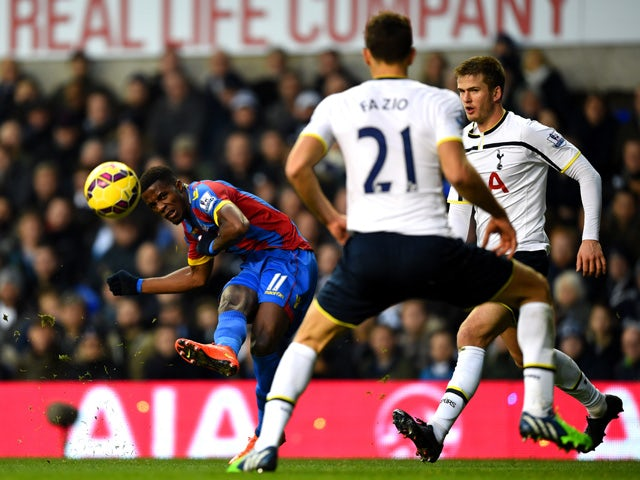 Result: Wasteful Spurs held by Palace