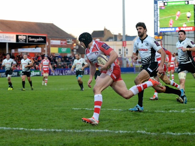 Result: Gloucester maintain 100% record