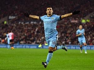 Man City hit four at Sunderland