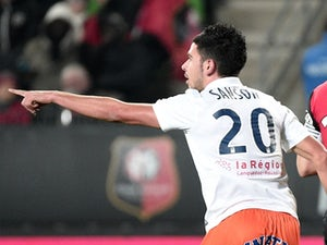 Montpellier move into eighth with win over Rennes