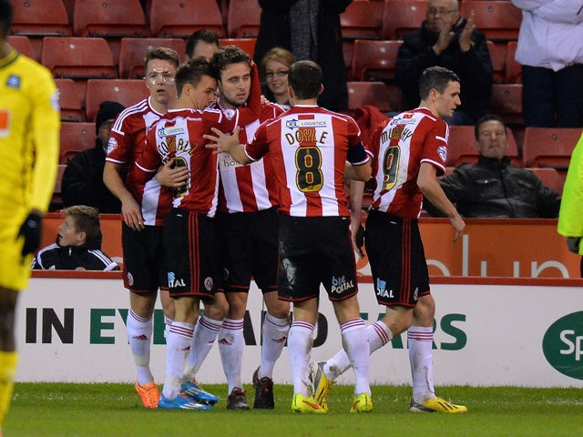 Result: Blades cruise past Scunthorpe