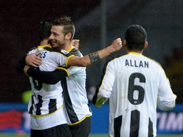 Result: Udinese see off Cesena in extra time