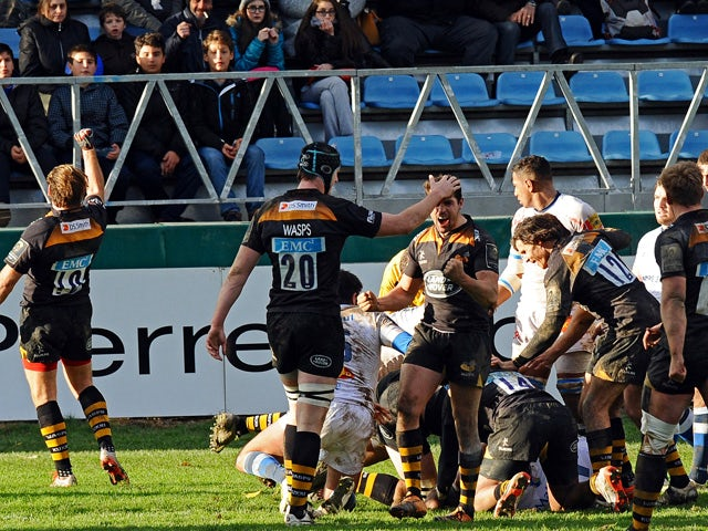 Result: Wasps rally to sting Castres for first win