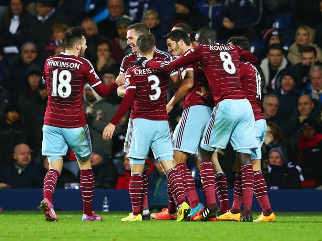 Result: West Ham hold on to beat West Brom