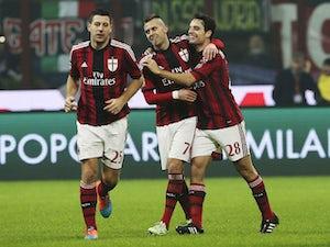 AC Milan lead Empoli against the run of play