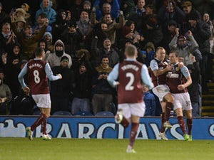 Burnley out of drop zone with win