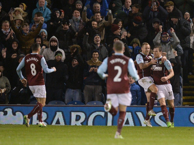 Result: Burnley out of drop zone with win