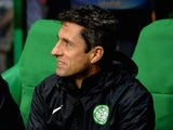 Celtic assistant manager John Collins during the UEFA Europa League group D match against Dinamo Zagreb on October 2, 2014