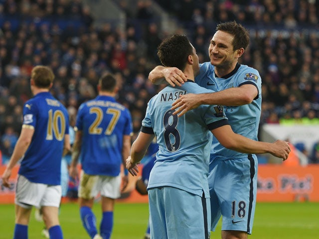 Result: Man City edge past Leicester