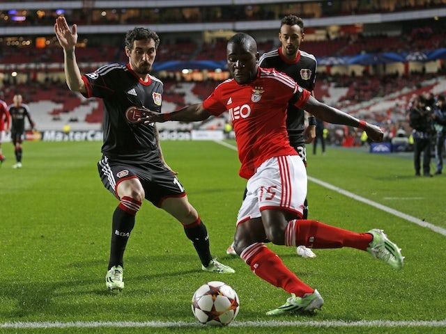 Result: Bayer finish second after Benfica draw