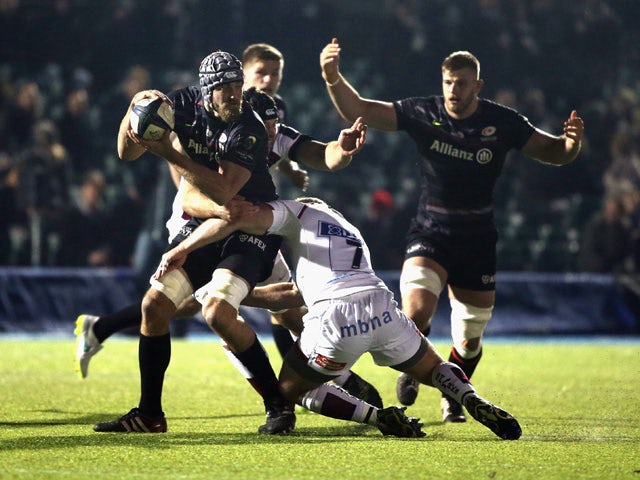 Result: Saracens clinch win over Sale