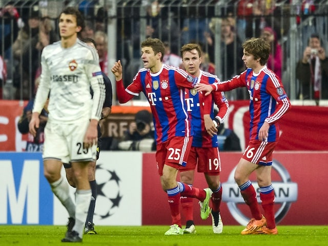 Result: CSKA miss out after Bayern defeat