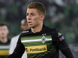 Moenchengladbach's Belgian midfielder Thorgan Hazard during the UEFA Europa League group A football match against FC Zurich on December 9, 2014