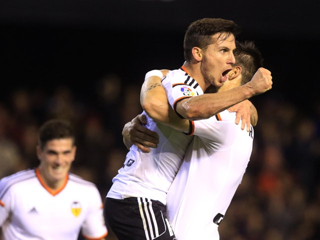Result: Negredo gives Valencia first-leg win