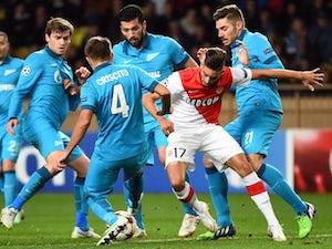 Monaco, Zenit level after tense first half