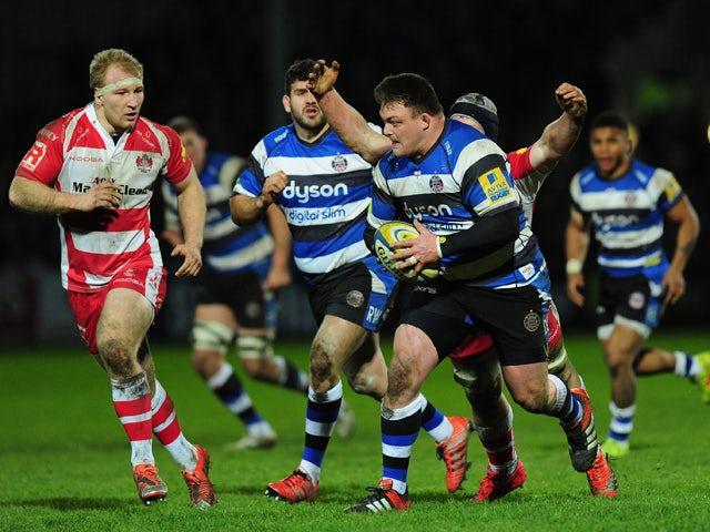 Result: Garvey brace helps Bath battle past Gloucester