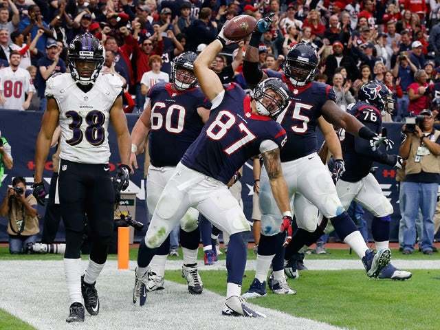 Result: Texans too strong for Ravens
