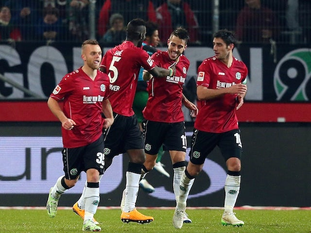 Result: Mainz 05 hit back to draw with Hannover
