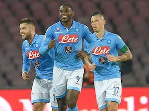 Team News: Zapata starts for Napoli
