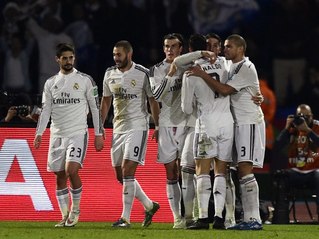 Result: Madrid crowned World Club champions