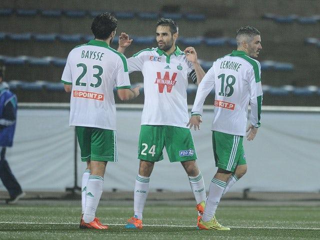Result: Saint-Etienne through in Coupe de la Ligue